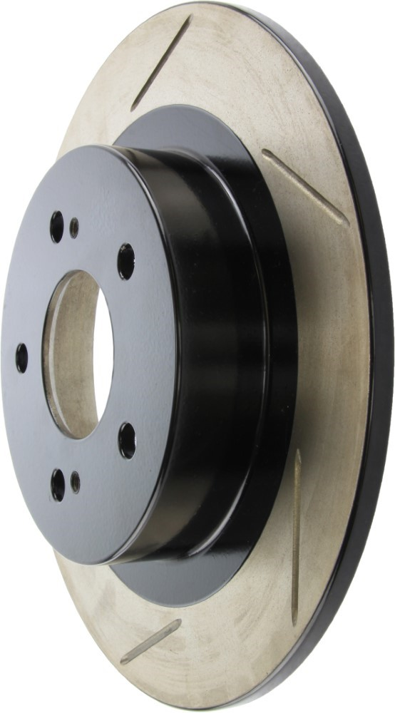 Right StopTech 126.47031SR Sport Slotted Rotor