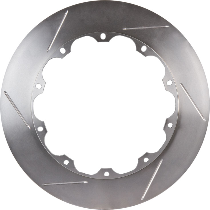 2 Piece StopTech 129.39038.13 Aero Rotor /& Hat Left, Slotted
