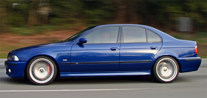 BMW E39 M5 with StopTech Big Brakes